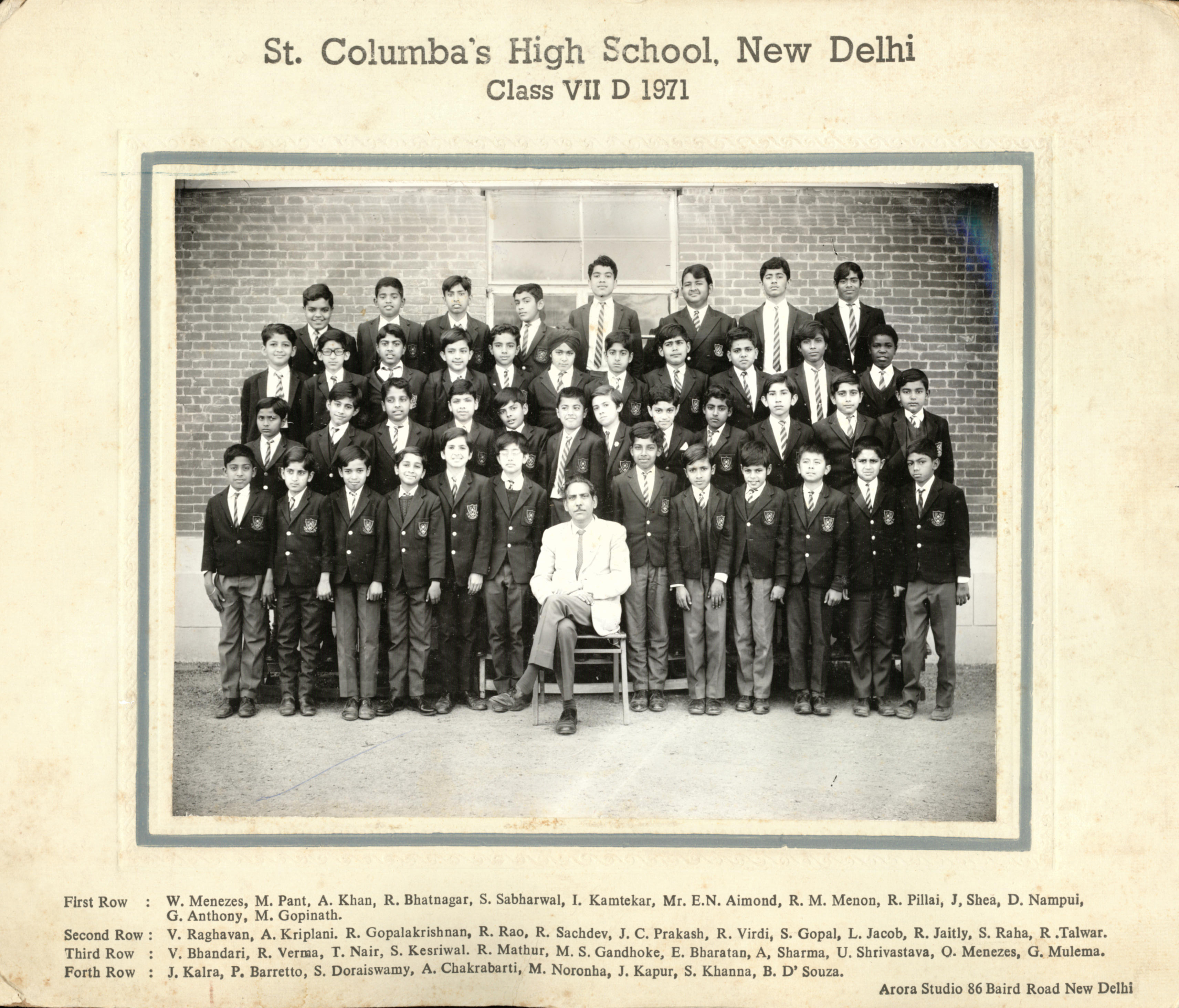 Some St  Columba's Class Pictures and Columban Issues   St